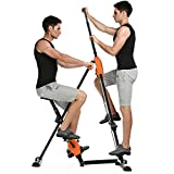 Pairkal Innovativer 2in1 Stepper & Vertical Climber Fitness, Climber Fitnessgerät für...