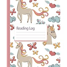 Reading Log : Gift For Book Lovers - Book Read Journal -Unicorn Cover 8x10 (110 Pages) - For Record Your Reading Book (Vol.7): Reading Log