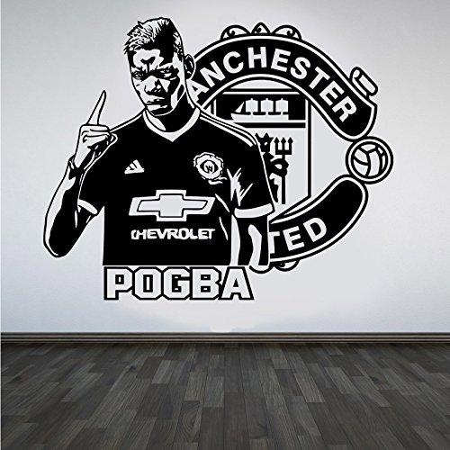 paul-pogba-manchester-united-football-star-art-sticker-decals-sticker-mural-citation-diy