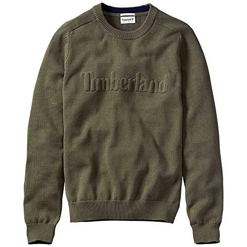 4de2ee3c380d3 Timberland Sweatshirts and Hoodies Timberland Stop River Cotton Logo Crew  Grape Leaf XL