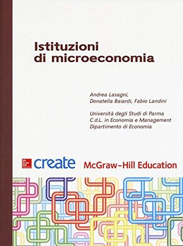 Istituzioni di microeconomia