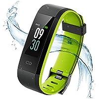 Vigorun Montre Connectée, Fitness Tracker d'Activité Ecran Coloré, Bracelet Connecté Etanche IP68 Smart Watch Band Sport Cardio Podomètre pour iPhone Samsung Huawei Android et iOS Smartphone