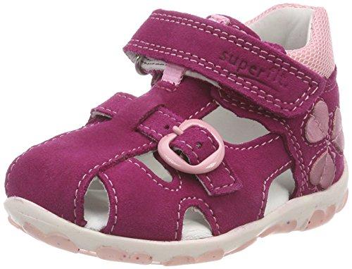 Superfit Baby Mädchen Fanni Sandalen, Pink (Berry Kombi), 24 EU