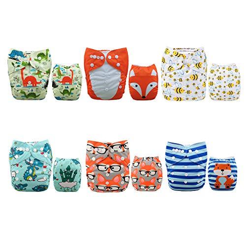Alva Baby Baby Jungen (0-24 Monate) Trainerhose Sets 6DM48 All-in-one