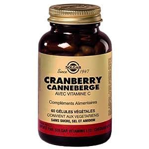 Solgar Cranberry Canneberge 60 Gelules Vegetales