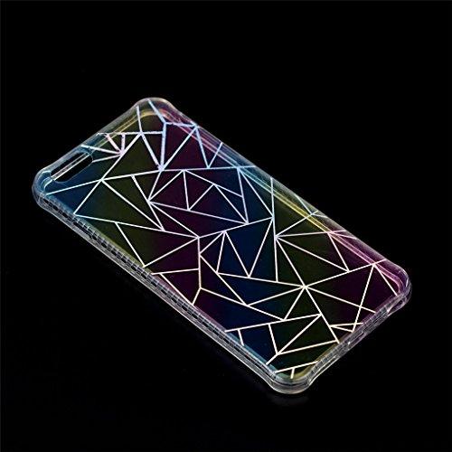 Apple iPhone 6 6S Hülle, SATURCASE Schönes Muster Überzug Ultra Dünn Weich TPU Gel Silikon Schützend Zurück Case Cover Tasche Schutzhülle Handyhülle für Apple iPhone 6 6S (Design-10) Design-7