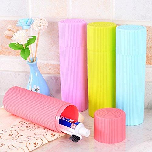 Vmore Travel Toothbrush holder Stationery Storage Box