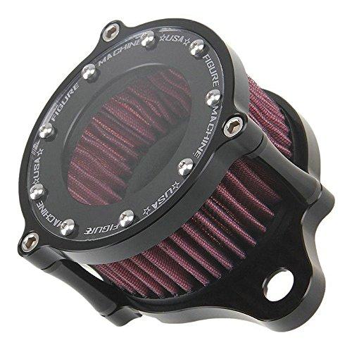 Airkoul Luftfilter Ansaugfilter Kit für Harley Davidson Sportster Aluminium Zaun Typ Harley Davidson Street Teile