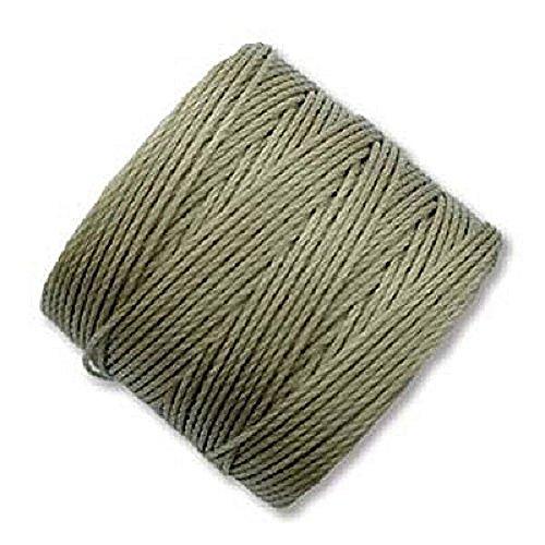 Khaki S-Lon Bead Cord Tex 210 0.5mm 77 yard (Cord Khaki)