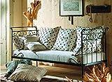Sofabett aus Schmiedeeisen : Modell APRIL
