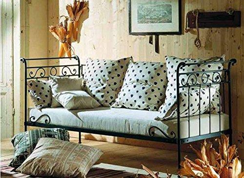 Sofa-Cama de forja Mod. ABRIL de 228x100cms.