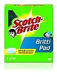 Scotch-Brite 5601/64 Britti Pad, mit Seife versetzter Scheuerschwamm, grün, 2er Pack (2 x 1 Stück)