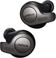 Jabra Elite 65t Écouteurs Bluetooth 5.0 True Wireless avec le service vocal Amazon Alexa intégré - Titane