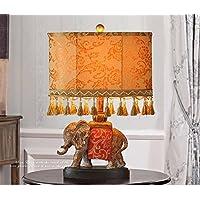 flashing light- Carino Vintage Animal lampada elefante decorazione del salone camera da letto di lusso americano sud-est