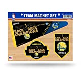 Rico NBA Golden State Warriors 2018 Basketball Champions Sterben Team Magnet-Set Blatt