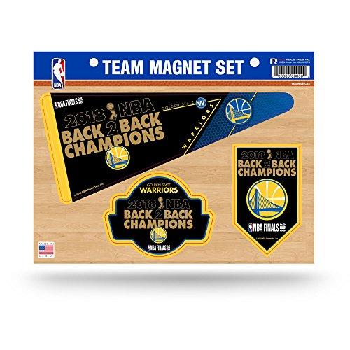 Rico NBA Golden State Warriors 2018Basketball Champions sterben Team Magnet-Set Blatt Champions Auto-magnet