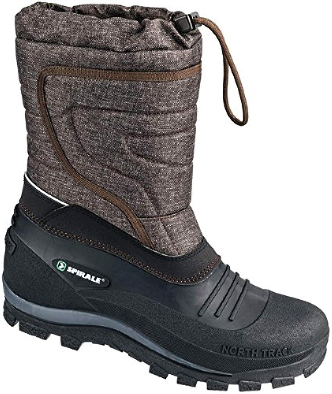 Espiral 584020 – 800 – 41 Calgary Doublé botas de invierno, Gris, 41