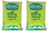 Organic BONE MEAL Powder - Sealed pack of 2 (1 KG each) - NATURAL Plant Fertilizer - KERALA Product - ABTECH