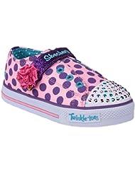 Skechers Twinkle Toes Shuffles Mädchen Schuhe / Sneakers