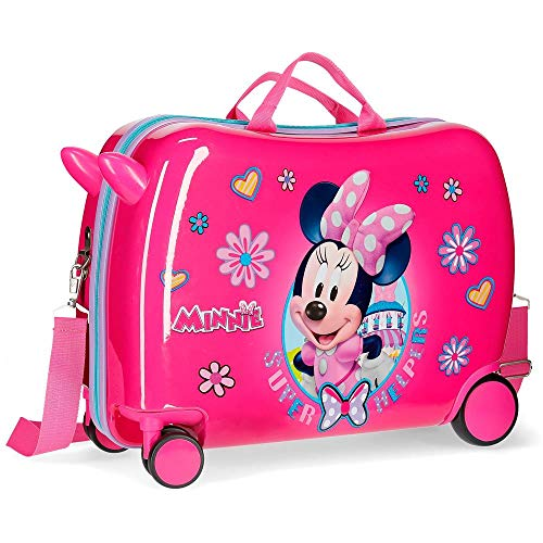 Disney Super Helpers Bagage enfant 50 centimeters 39 Rose (Rosa)