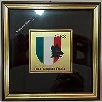 QUADRETTO 1983 ROMA CAMPIONE D'ITALIA - RARO
