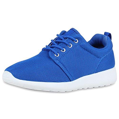 best-boots Unisex Damen Laufschuhe Fitness Sneaker Sport Turnschuhe Damen Sportschuhe Blau Blau Nuovo 36