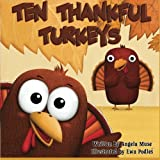 Ten Thankful Turkeys by Angela Muse (2014-10-04)