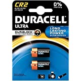 DURACELL Pile photo Lithium Ultra CR 2 blister de 2