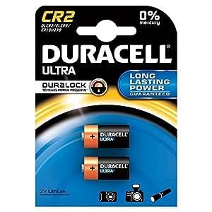 DURACELL blister de 2 Piles photo Lithium Ultra CR2