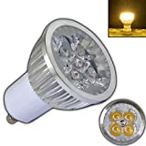 GU10 LED 4 Watt (Hochwertige Verarbeitung) Warmweiß Spot 60° Grad Energiesparlampe Lampe Strahler 28W PB-Versand®
