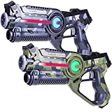 Light Battle 2X Pistola Laser Tag (Camo Verde, Gris) - Pistolas láser...