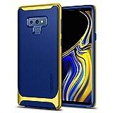 Spigen Samsung Galaxy Note 9 Hülle [Neo Hybrid] Doppelschutz [Ocean Blue] 2-teilige Handyhülle Silikon Schale PC Farbenrahmen Dual Layer Schutzhülle Note 9 Case Cover - Ocean Blue (599CS25055)