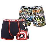 Character Herren Boxershort Gr. M, Marvel Comics 2 Pack Boxers