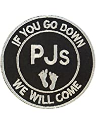 Pararescue Jumper PJ CSAR USAF Touch Fastener Patch Rescue IF YOU GO DOWN WE WILL COME