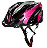 Sport Direct Bicycle Helmet Ladies, 56-58cm, Pink Bild 7