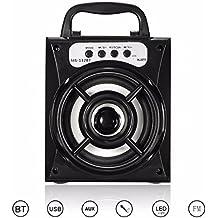 ELEGIANT LED Colorato Bluetooth Senza Fili Stereo Altoparlante Radio Esterno