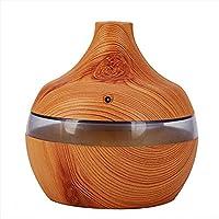 Humidificador de madera 300ML humidificador por goteo de la bola máquina de aromaterapia a base de madera