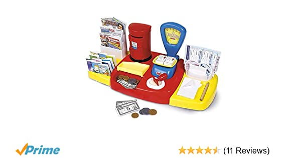 Childrens Kids Pretend Play Imaginative Learning Post Office Role Play Shop Creative Toy Set