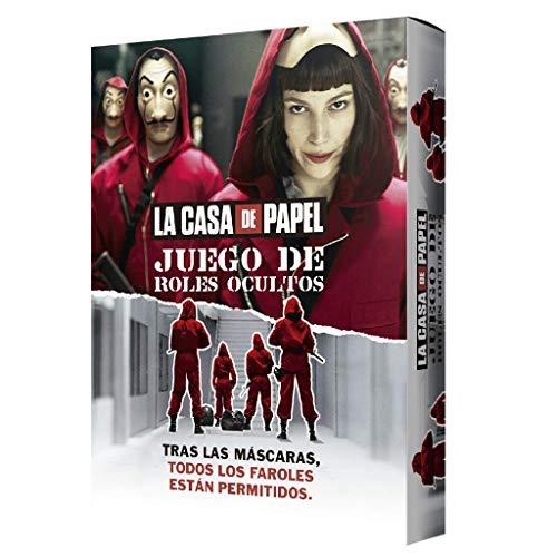 Larousse- Roles Ocultos La Casa Papel - Español