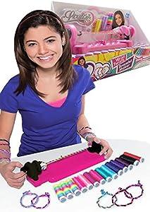 Allkindathings - Juego de Pulseras para niña con Cordel de 14 Colores