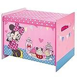 WA Disney Minnie Maus Spielzeugkiste Spielebox Stoffkiste Kinderzimmer Kindermöbel Spielzeugbox