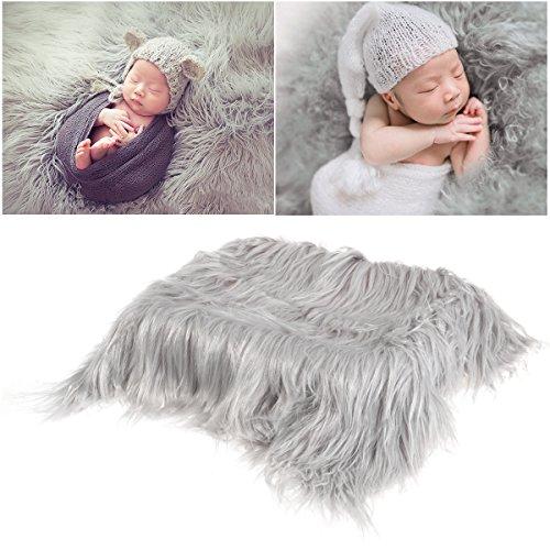 OULII Foto de bebé accesorios piel suave edredón tapete fotográfico bebé DIY...