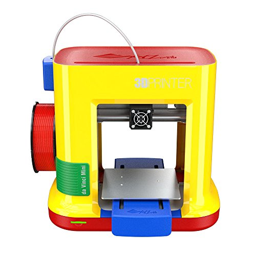 XYZ Printing da Vinci miniMaker 3D printer (fully assembled), FREE for: £12 300g PLA filament, £15 maintenance tools, modelling software, and video tutorials, 15x15x15cm Built Vol.