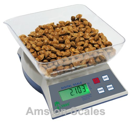 5bfae18e0403 6000 x 1 gram / 13 LB Kitchen Food Portion Control Scale Weight Diet  Watchers by Amston Scales