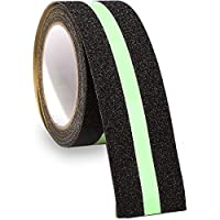 LifeKrafts Anti Slip Tape with Glow in the Dark. Size:10M*50MM - Non Skid Glow Safety Tape, Self Adhesive.