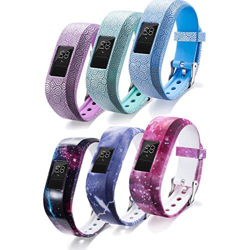 Ersatzarmband für Garmin-Vivofit-jr.-Activity-Tracker, Uhrenarmband für Kinder-Fitness-Tracker Garmin Vivofit jr.(Tracker ist nicht im Lieferumfang enthalten), mit Sicherheitsschließe