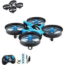 4.5canales rc Mini Quadcopter teledirigido, dron Quadcopter de principiantes, One de Key trasera Holm ODUS y mucho más, Juego Completo con Crash Kit de