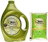 #9: Oleev Active Jar, 5L With Free Oleev Active Oil, 1L