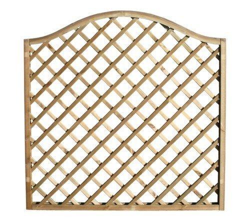 Panneau à anse à grilles diagonale 180 x 180 cm