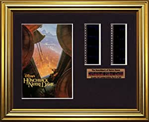 The Hunchback of Notre Dame Disney - Framed double filmcell picture (gd)